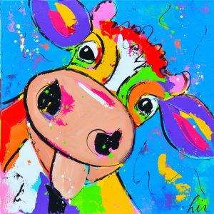 schilderij met koeien