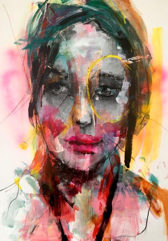 Intuitief Portretschilderen Zelfkunstmaken Nl